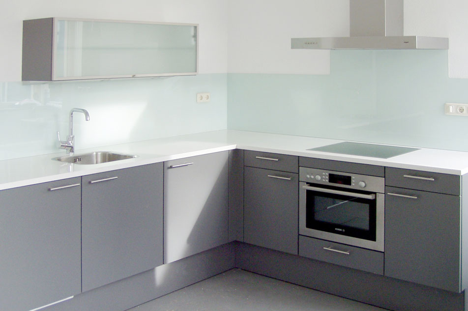 Keuken Glazen Achterwand : Achterwanden wenthec glas
